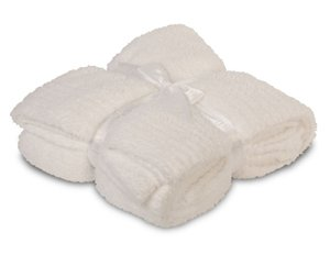 Barefoot Dreams® CozyChic® Ribbed Throw in White