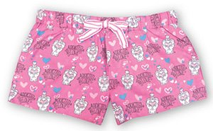 Be As You Are Addicted to Love Women's Boxer in Pink