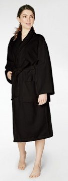 Bedhead Women's Classic Black Terry Velour Robe