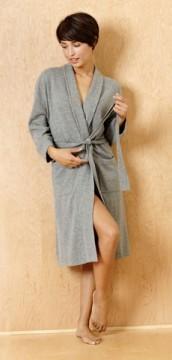 Bedhead Women's Grey Cashmere Robe