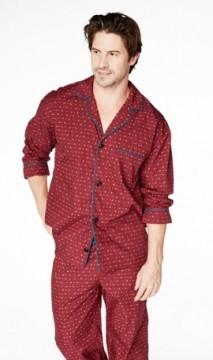 Bedhead Men's Pheasant Foulard Cotton Classic Pajama Set