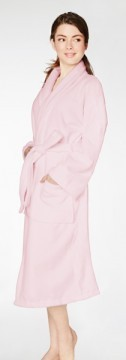 Bedhead Women's Classic Pink Terry Velour Robe