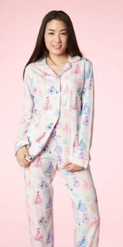 "Bedhead Women's ""Tour de France"" Classic Stretch Pajama Set"