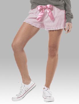 Boxercraft Pink Cotton Candy Seersucker VIP Bitty Boxer Shorts