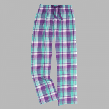 Boxercraft Bejeweled Plaid Unisex Flannel Pajama Pant