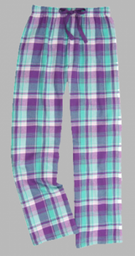 Boxercraft Bejeweled Plaid Unisex Flannel Pajama Pant