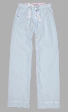 Boxercraft Unisex Blue Seersucker Cotton Pant