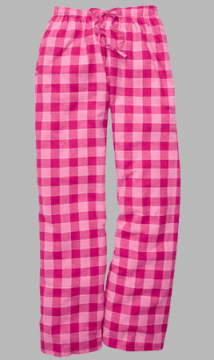 Boxercraft Bubblegum Pink Unisex Flannel Pajama Pant