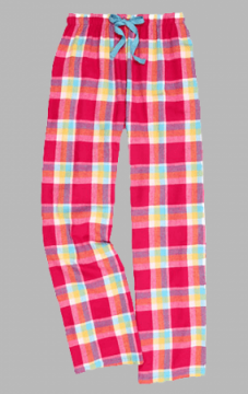 Boxercraft Caribbean Crush Plaid Unisex Flannel Pajama Pant