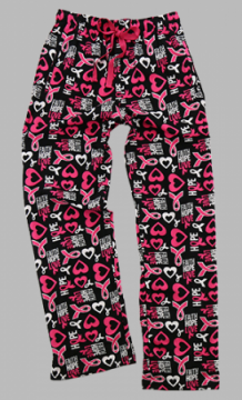Boxercraft Faith Hope Love Unisex Flannel Pajama Pant