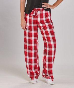 Boxercraft Women's Featherlite Madison Red and Black Plaid Pajama Pant