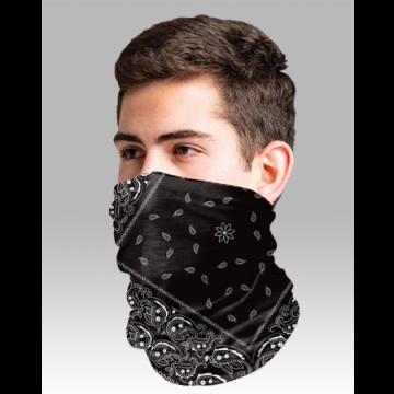 Boxercraft Adult Black Bandana Comfort Gaiter