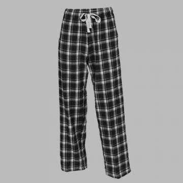 Boxercraft Black Heritage Plaid Unisex Flannel Pajama Pant