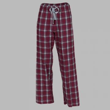 Boxercraft Garnet Heritage Plaid Unisex Flannel Pajama Pant