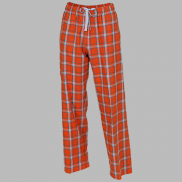 Boxercraft Orange Heritage Plaid Unisex Flannel Pajama Pant