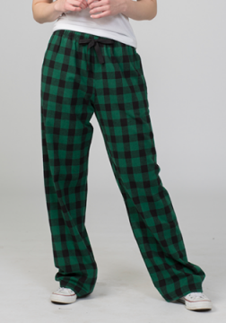 Boxercraft Hunter and Black Buffalo Plaid Unisex Flannel Pajama Pant