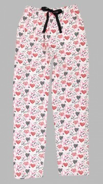 Boxercraft Love Hearts Unisex Flannel Pajama Pant