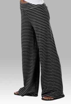 Boxercraft Women's Black Stripe Margo Loungepant