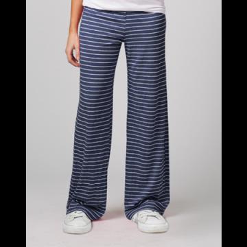 Boxercraft Women's Navy Stripe Margo Loungepant
