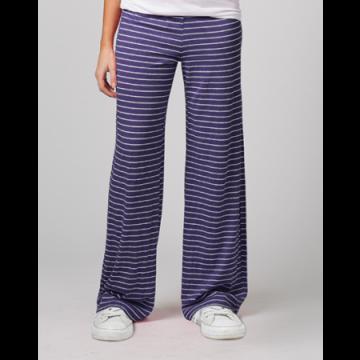 Boxercraft Women's Purple Stripe Margo Loungepant