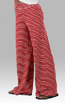 Boxercraft Women's Red Stripe Margo Loungepant