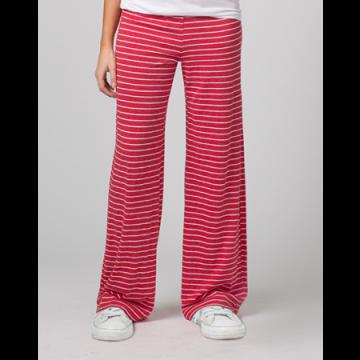 Boxercraft Women's Red Stripe Margo Loungepant
