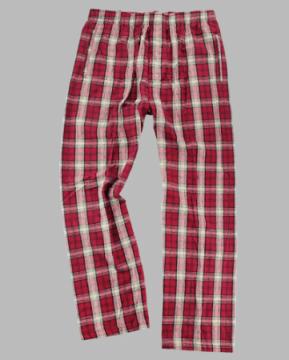 Boxercraft Men's Garnet & Vegas Gold Classic Flannel Pajama Pant