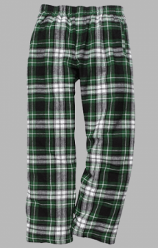 Boxercraft Men's Green and Black Classic Flannel Pajama Pant