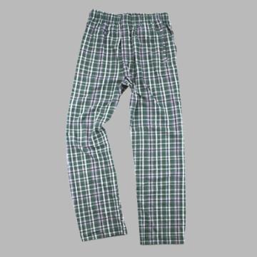 Boxercraft Men's Green and Black Classic Plaid Flannel Pajama Pant