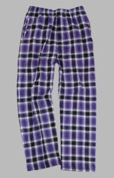 Boxercraft Men's Purple and Black Classic Flannel Pant