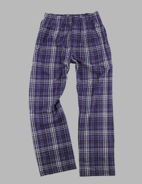 Boxercraft Men's Purple & Grey Classic Flannel Pajama Pant