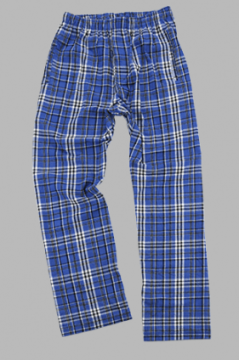 Boxercraft Men's Royal and Black Classic Flannel Pant