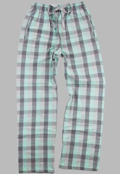 Boxercraft Mint & Gray Unisex Flannel Pajama Pant