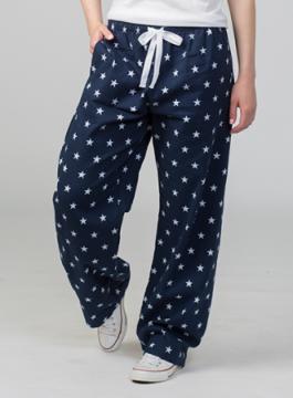 Boxercraft Navy Stars Unisex Flannel Pajama Pant