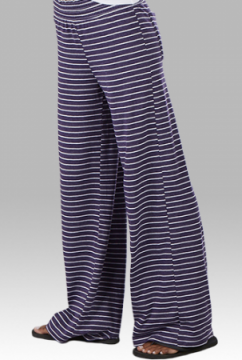 Boxercraft Women's Navy Stripe Margo Loungepant