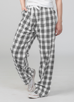 Boxercraft Oxford and Natural Buffalo Plaid Unisex Flannel Pajama Pant