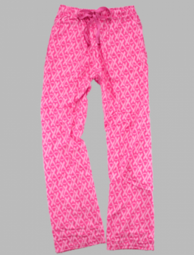 Boxercraft Pink Awareness Unisex Flannel Pajama Pant
