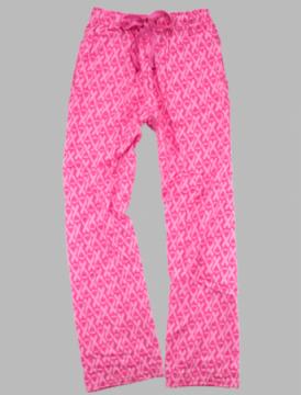 Boxercraft Pink Awareness Unisex Flannel Pajama Pant