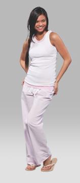 Boxercraft Unisex Pink Seersucker Pajama Pant