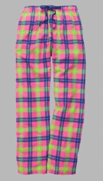 Boxercraft Popsicle Plaid Unisex Flannel Pajama Pant