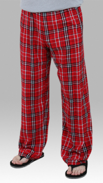 Boxercraft Men's Red and Black Classic Flannel Pajama Pant