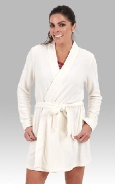Boxercraft Women's Oatmeal Cozy Robe