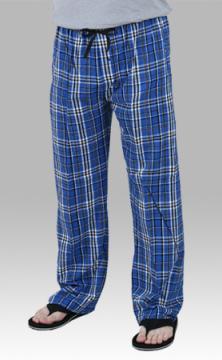 Boxercraft Royal and Black Plaid Unisex Flannel Pajama Pant