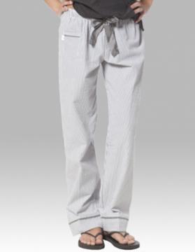 Boxercraft Women's Charcoal Seersucker Cotton Pajama Pant