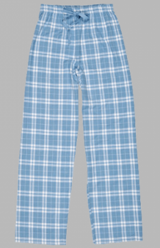 Boxercraft Sky Blue Plaid Flannel Pajama Pant