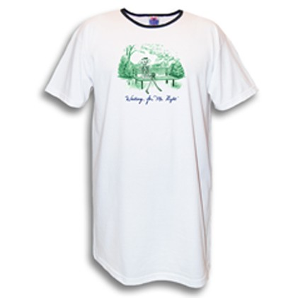 """""""Waiting For Mr. Right"""" Nightshirt in White"""