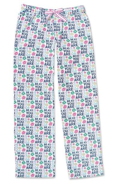 "Be As You Are ""Fun"" Multi Women's Pajama Pant"