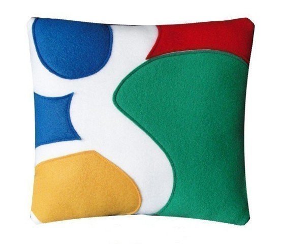 Google Pillow from Craftsquatch