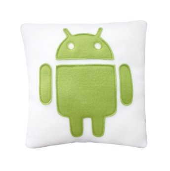 Android Pillow from Craftsquatch in Green
