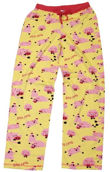 """Lazy One """"Bed Hog"""" Women's Pajama Pant in Yellow"""